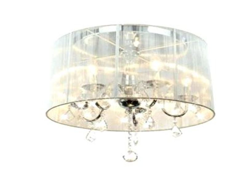 Image of: Chandelier With Shades Design