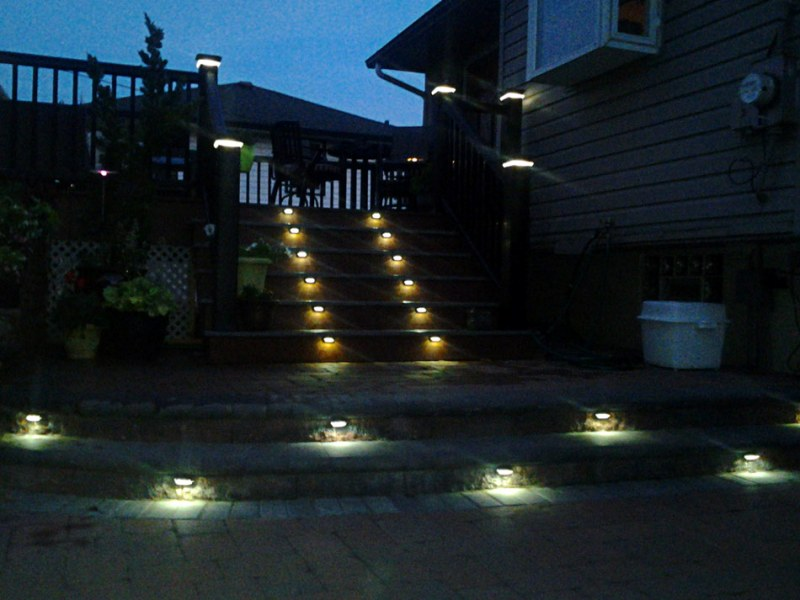 Image of: Deck Accent Lighting