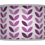 Deep Purple Lamp Shade