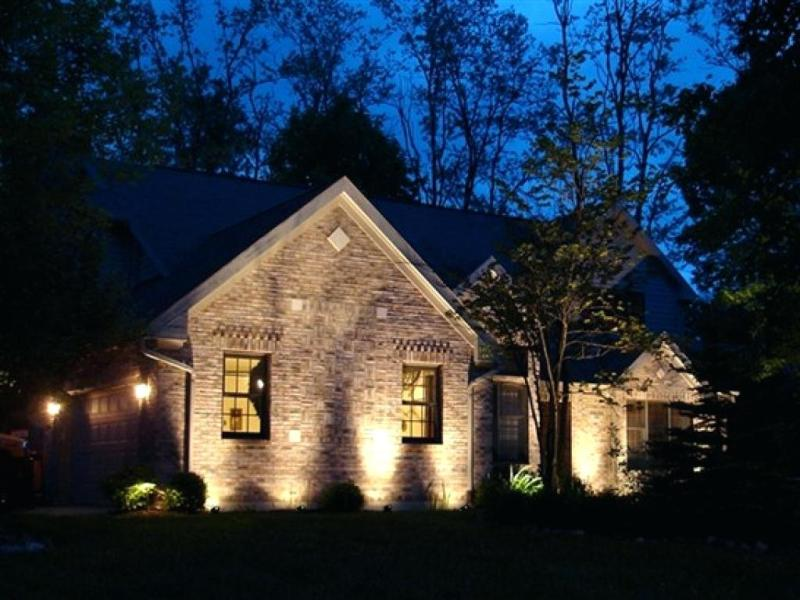 Image of: Exterior Accent Lighting