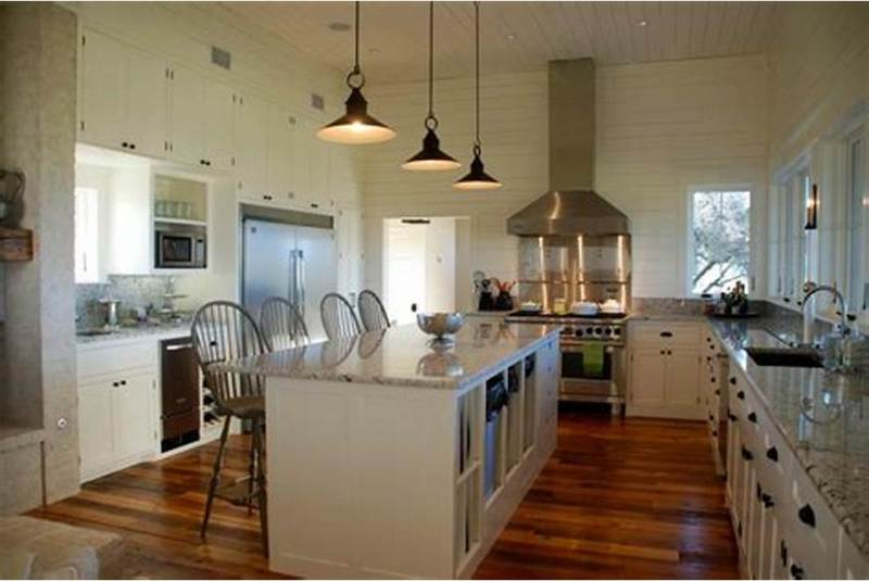 Picture of: Farmhouse Kitchen Island Lighting