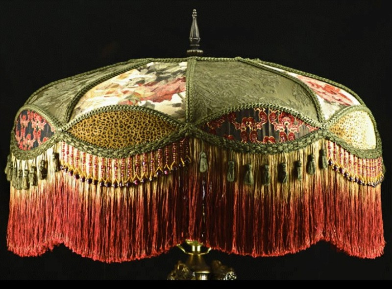 Picture of: How To Make Victorian Lamp Shades