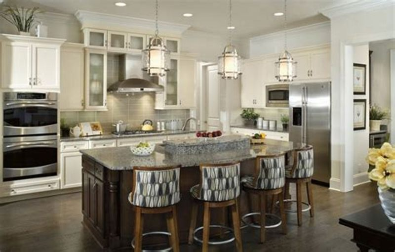 Picture of: Kitchen Island Lights