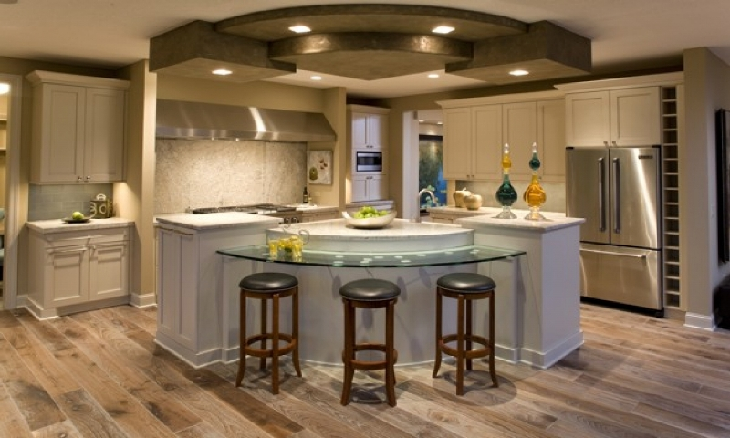 Picture of: Kitchen Lighting Over Island
