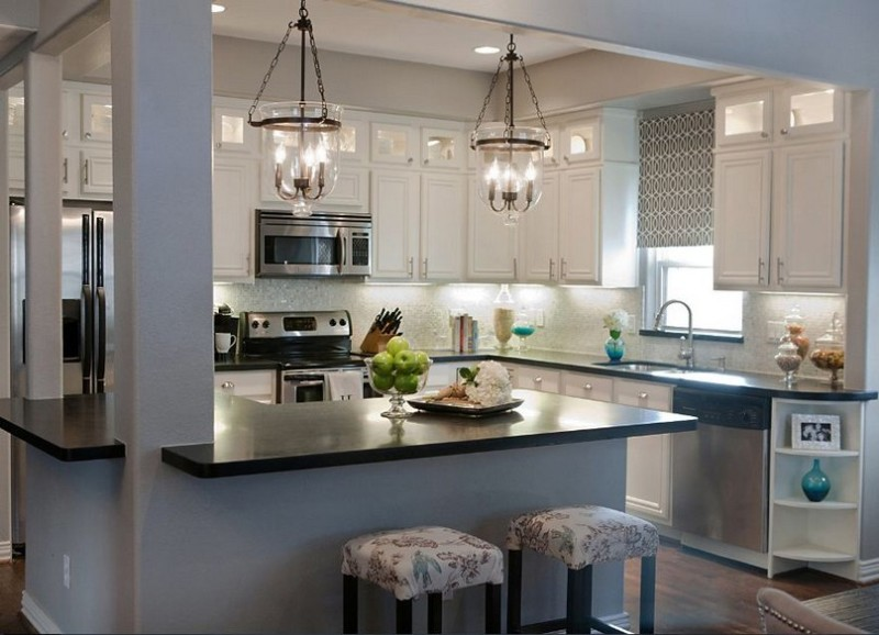 Kitchen Pendant Lighting Over Island Design