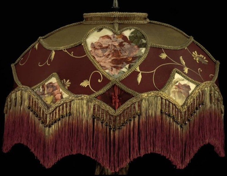 Picture of: Lamp Shades Victorian Style
