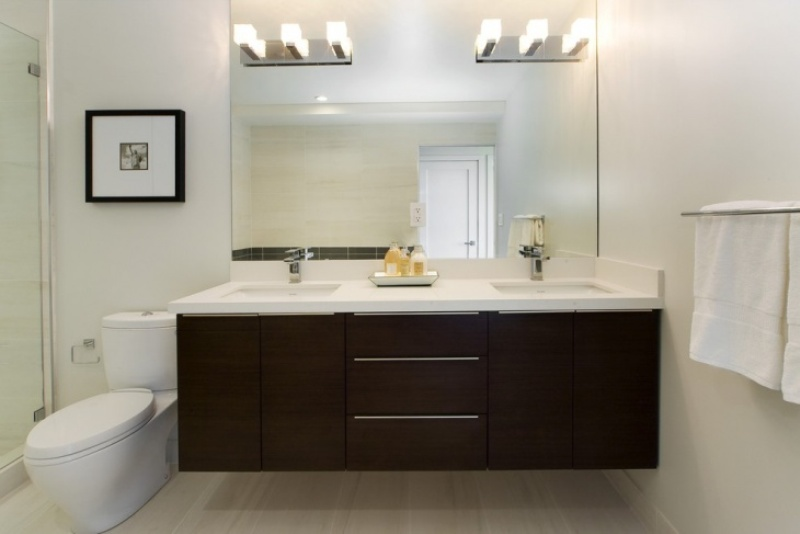 Image of: Lighted Vanity Mirror