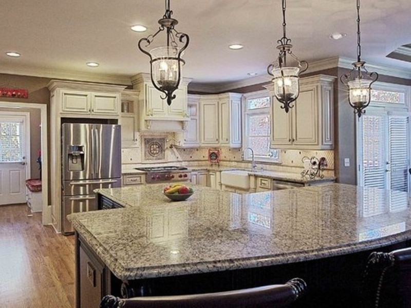Picture of: Lighting For Kitchen Island