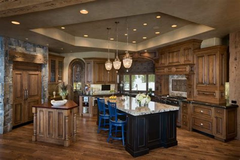 Picture of: Lighting Over Kitchen Island