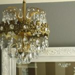 Mini Chandelier Shades With Crystals