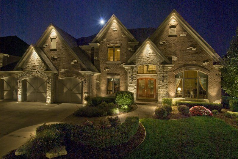 Image of: Outdoor Accent Lighting