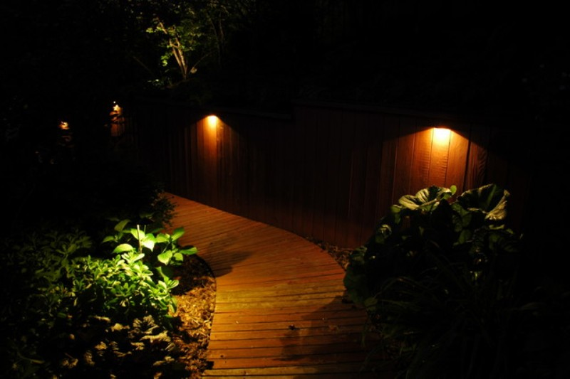 Image of: Outdoor Led Accent Lighting