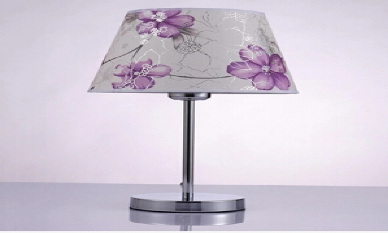 Image of: Purple Table Lamp Shade