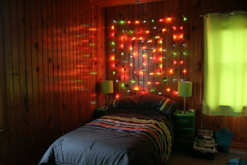 Room Decor With Christmas Lights