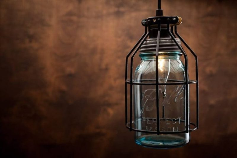 Rustic Glass Pendant Lighting
