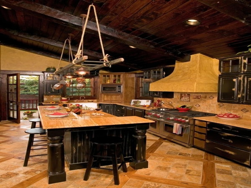 Rustic Kitchen Pendant Lighting