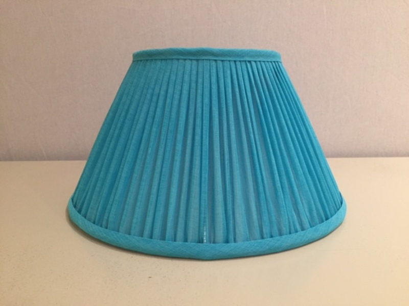 Image of: Turquoise Clip On Lamp Shade