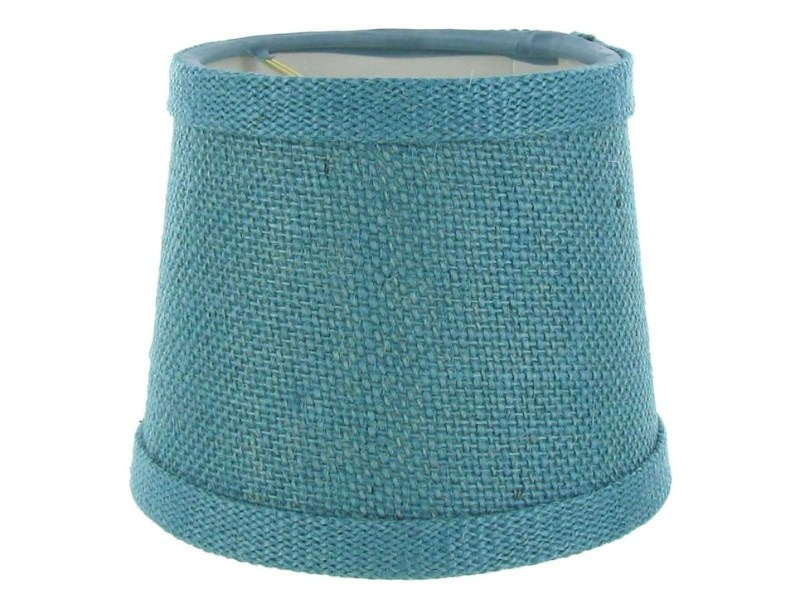 Image of: Turquoise Hide Lamp Shade