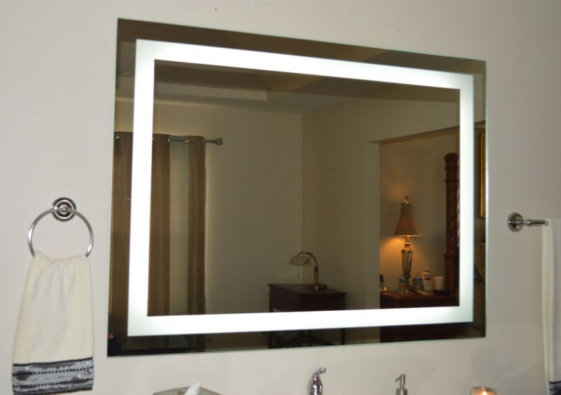 Image of: Vanity Mirrors With Lights Wall Mount