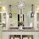 Vanity Set With Mirror Lights