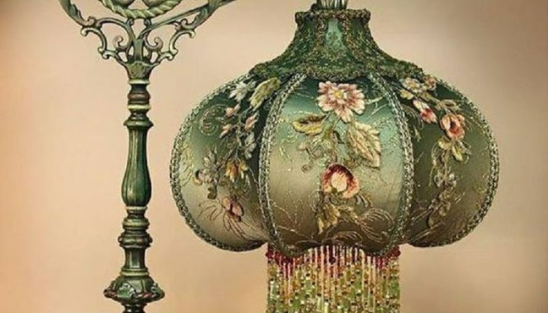Picture of: Victorian Floor Lamp Shades