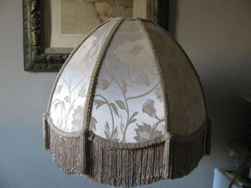 Picture of: Victorian Lamp Shades Fringe