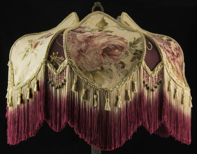 Really Beautiful Victorian Lamp Shades