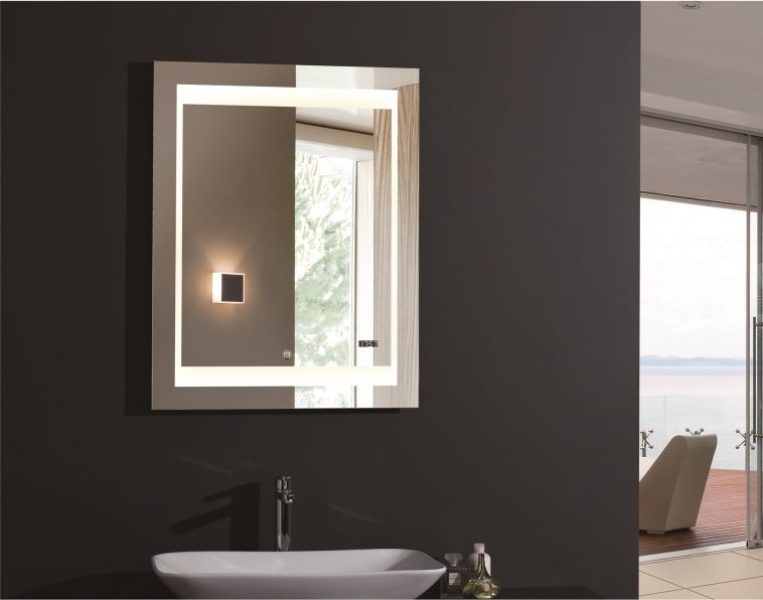 Image of: Wall Mounted Vanity Mirrors With Lights