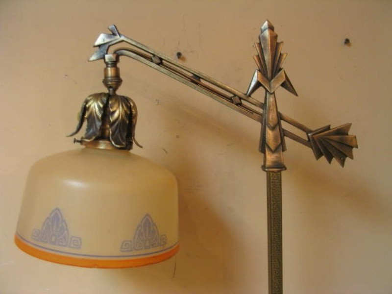 Antique Lamp Shades For Floor Lamps