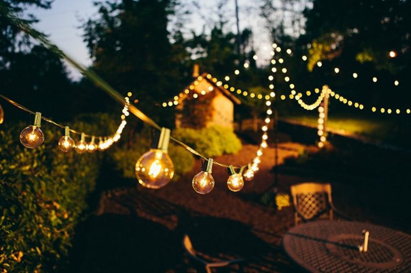 Picture of: Decorative G40 Patio String Lights
