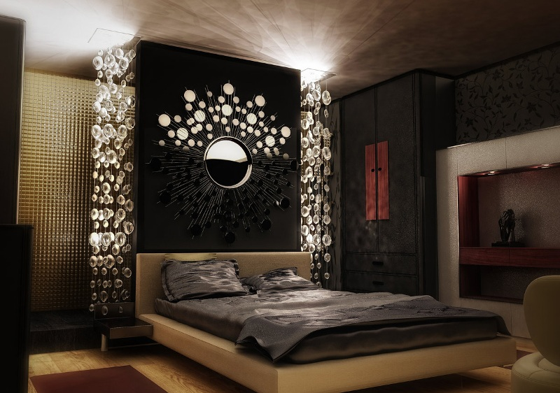 Image of: Decorative Lights For Bedroom Wall