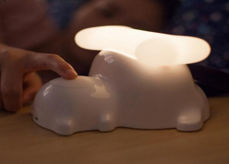 Picture of: Decorative Night Light With Sensor