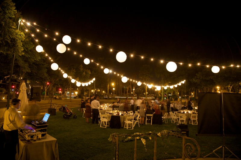 Picture of: Decorative Patio Lights String