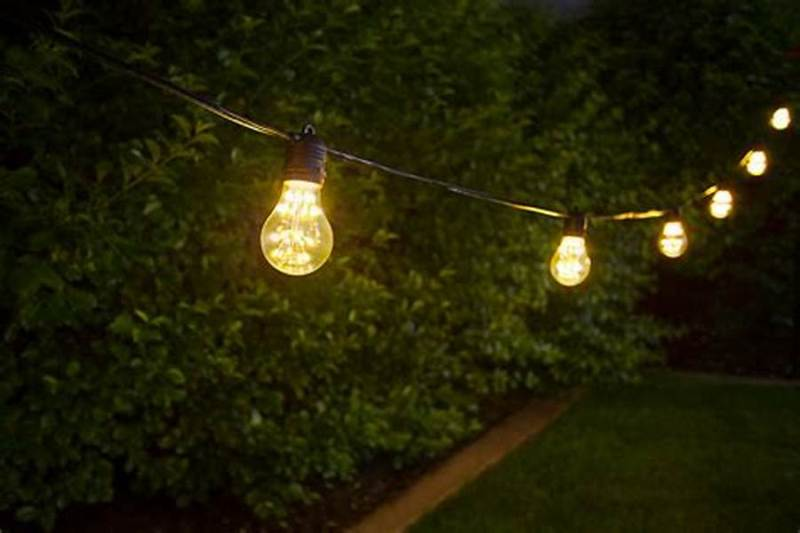 Picture of: Decorative Patio String Lights