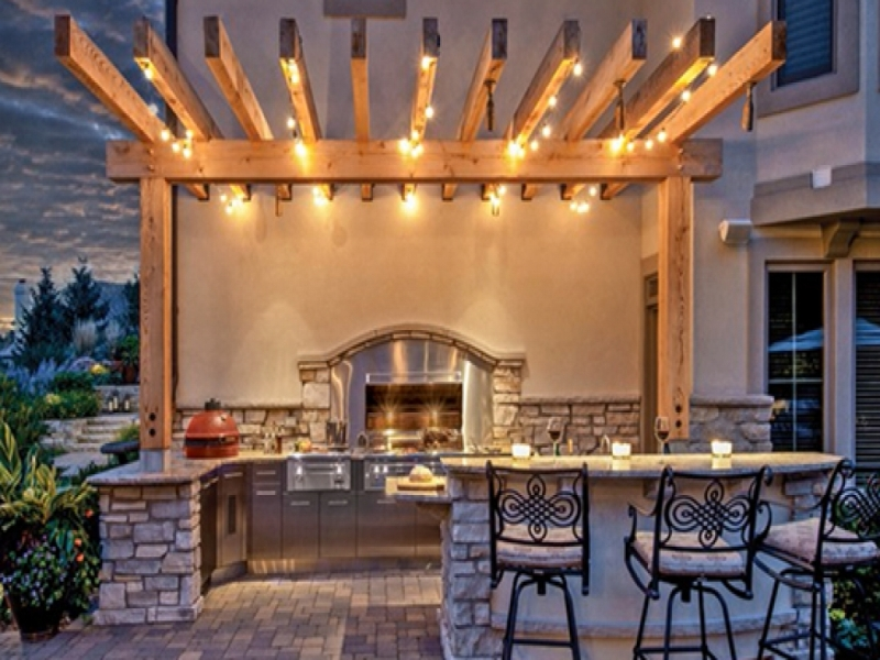 Picture of: Decorative String Trim Lights For Patio