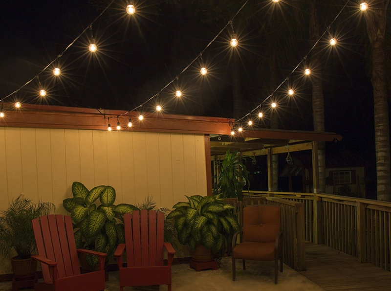 Picture of: Outdoor Decorative Patio Lights