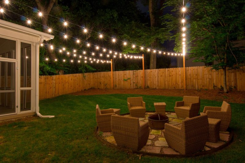 Picture of: Patio Decorative String Lights