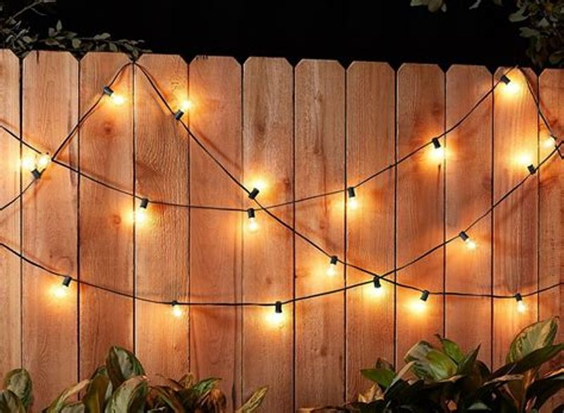 Thewshold Decorative Patio String Lights