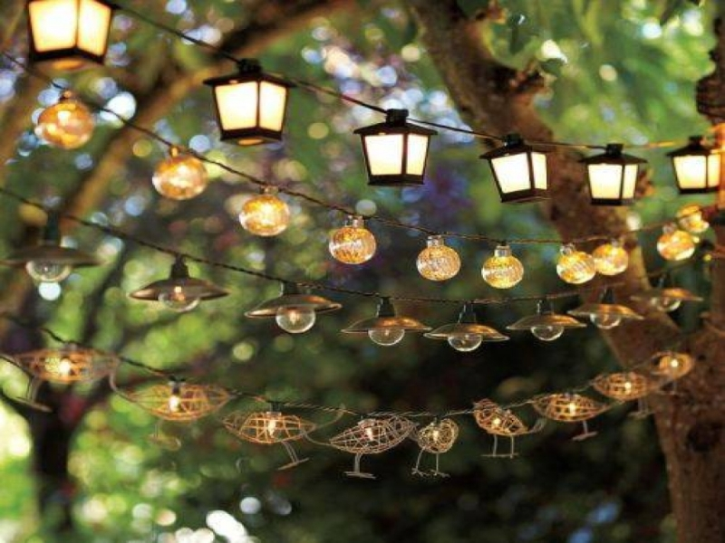 Picture of: Vintage String Lights Outdoor