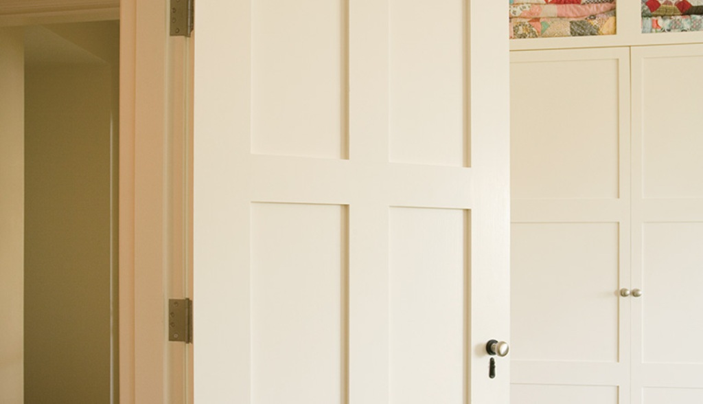 Image of: 3 Panel Interior Door Black