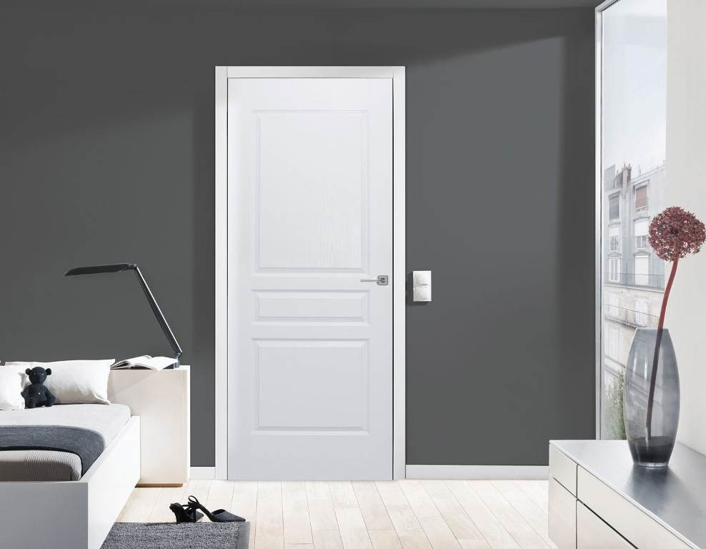Image of: 3 Panel Interior Door Brands