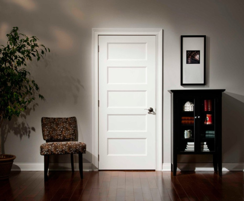 Image of: 5 Panel Door Casing