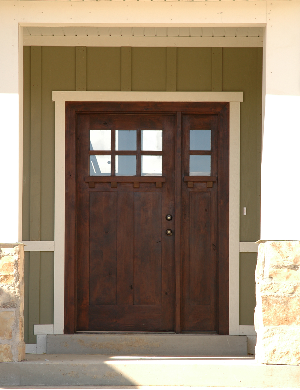 5 Panel Exterior Door Craftsman