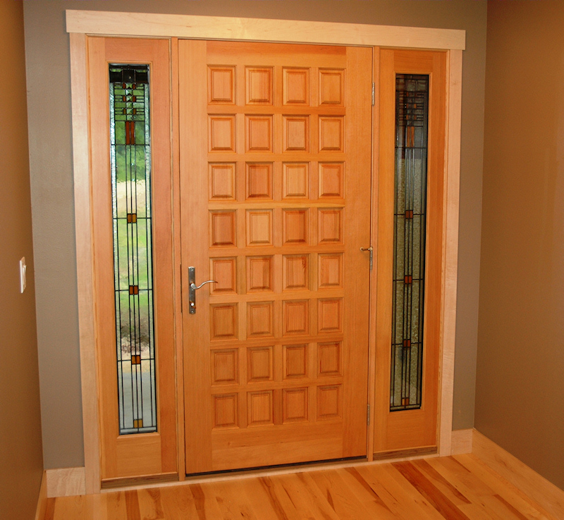Image of: 5 Panel Exterior Door Designs