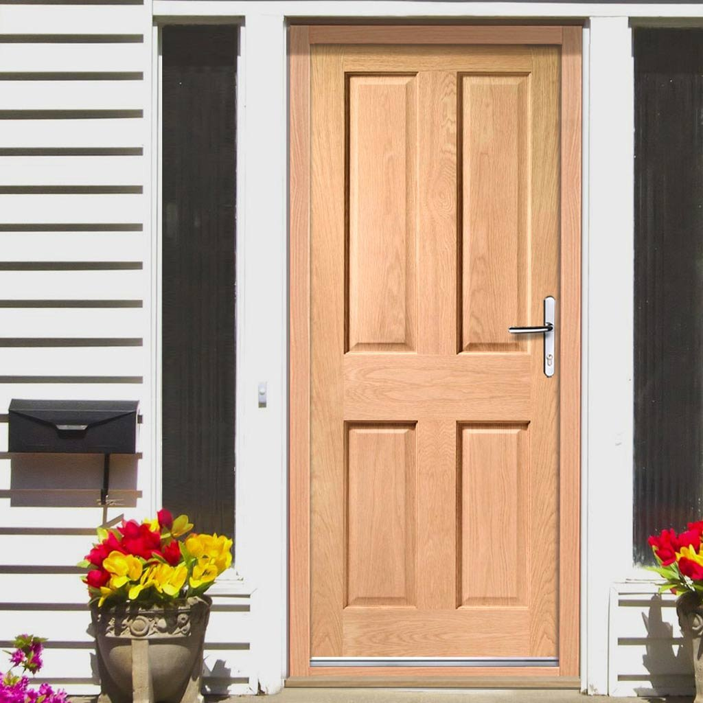 Image of: 5 Panel Exterior Door Small