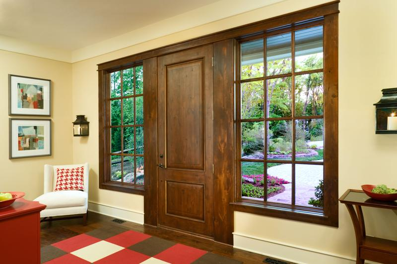 Image of: 5 Panel Exterior Door Wooden