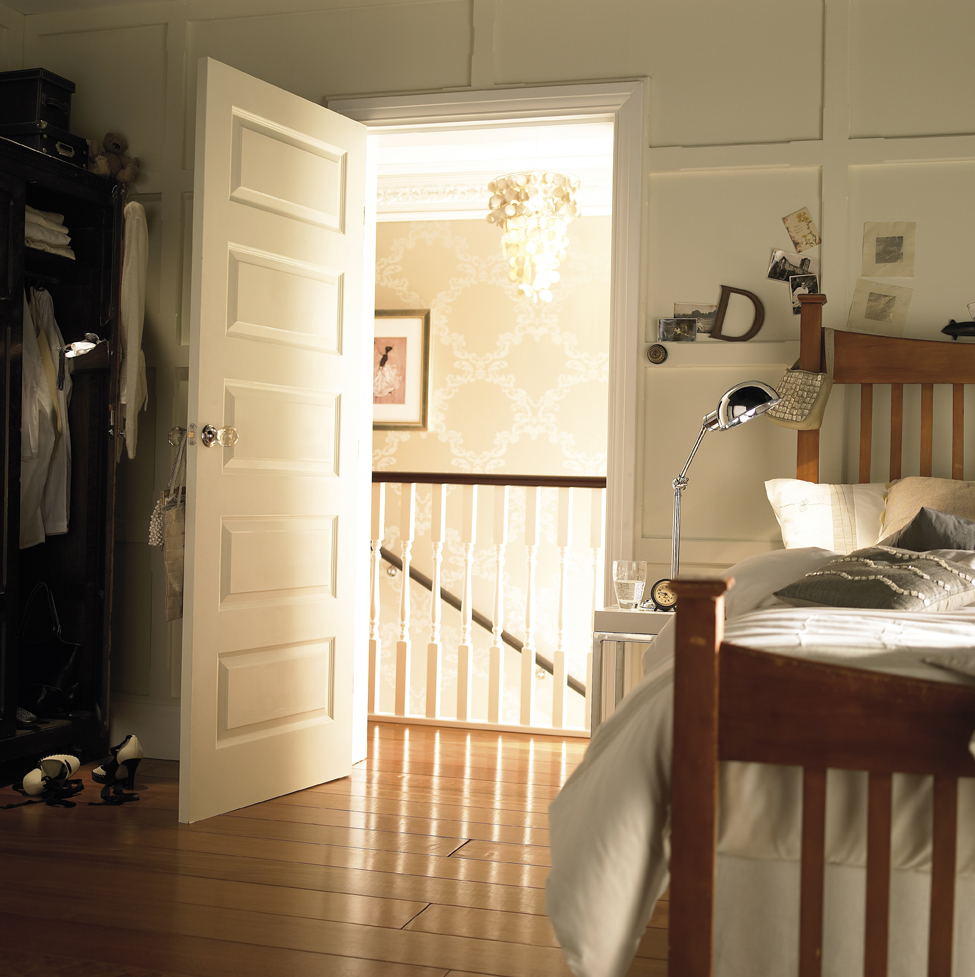 Image of: 5 Panel Interior Door Bedroom