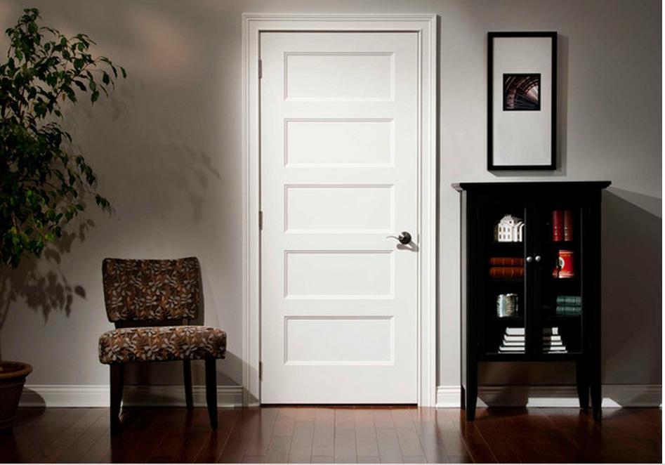 Image of: 5 Panel Interior Door Color