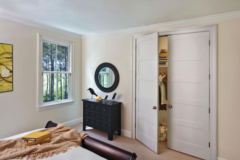 Image of: 5 Panel Interior Door Double