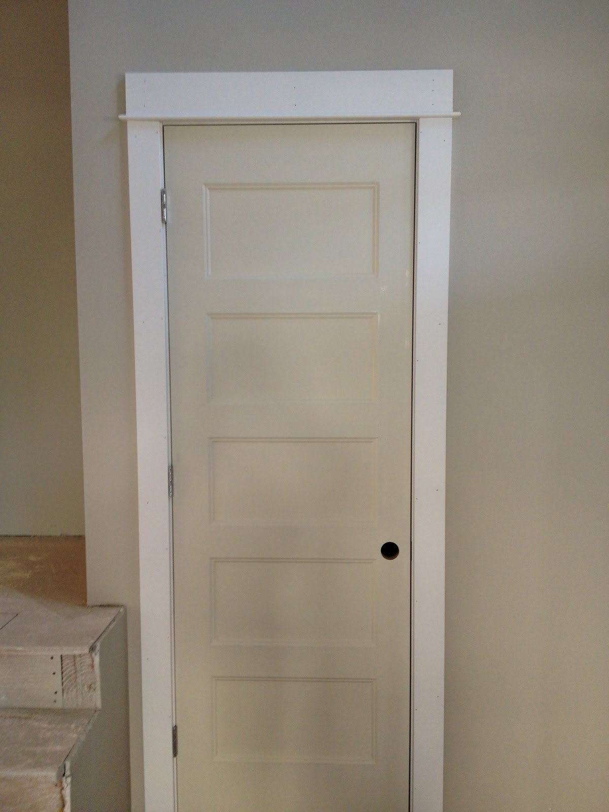 Image of: 5 Panel Interior Door Small